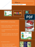 What is brochure, banner, poster