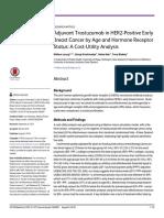 Adjuvant Trastuzumab in HER2-Positive Early