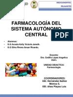 FARMACOS SEDANTES, RELAJANTES Y ANESTESICOS