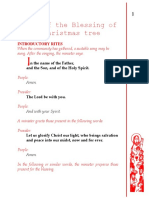 Blessing of the Christmas Tree.docx
