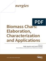 Biomass Chars Elaboration Characterization and Applications