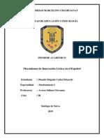 Mecanismos de Innovación Lexica en el español