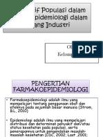 Perspektif Populasi dalam Farmakoepidemiologi dalam Bidang Industri