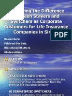 Falah Butt Stayers & Switchers