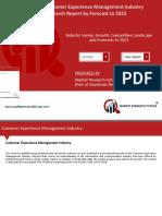 Customer Experience Management Market 3