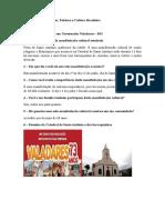 ATD2 - Arte popular, Folclore e Cultura Brasileira