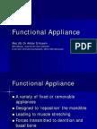 Functional Appliance Dr. AKBAR
