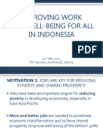 FKP 2014 05 21 Mattia Makovec Improving Work and Well Being for All Indonesia