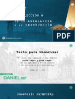 COMENTARIO LECCIÓN 6 PPT