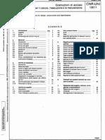 Cnr-Uni10011 Ita (1983) Costruzioni Di Acciaio, Istruzioni Di Calcolo (Gia Masterizz