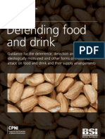 PAS 96 2008- Defending Food & Drink