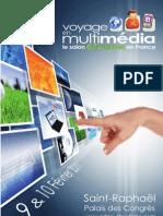Voyage en multimédia - plaquette commerciale 2011