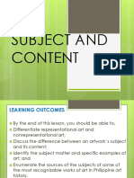 SUBJECT-AND-CONTENT