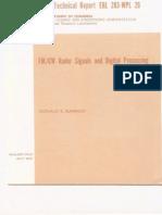Barrick - FMCW Radar Signals and Digital Processing