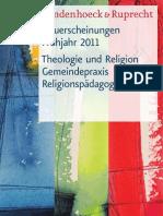 Vorschau 1 / 2011 Theologie