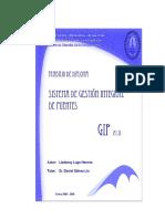 Sistema de Gestión Integral de Puentes Cuba