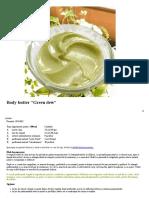 body butter green