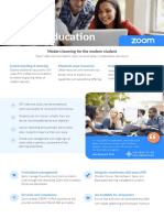 Zoom for Higher Education