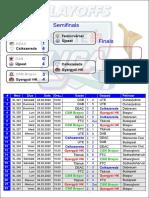 Program Sferturi Erste Liga 2019-2020