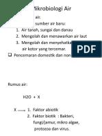 Mikrobiologi Air