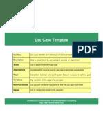UseCase Template
