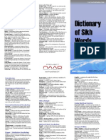 Dictionary of Sikh Words