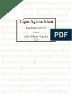 Rangkuman Bab 1-4 Kls X Agama Islam