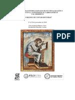 Cuadernillo Abstracts Jornadas de Ficcionalización y Narración 2019