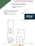 Cours - Technologie la coupe simple et le filtage - 1ère AS  (2010-2011)  Mlle anais (2)