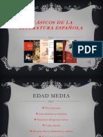 presentación de literatura española