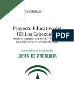 Proyecto Educativo Del IES Los Cabezuelos
