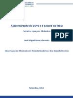 A Restauração e o Estado da Índia - Agentes, espaços e dinâmicas.pdf