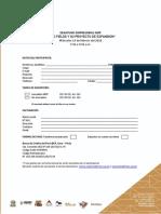 FICHA DE INSCRIPCIÓN - Desayuno Empresarial 19.02.20