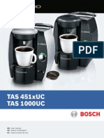 Tassimo Bosch User Manual