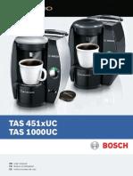 Tassimo Bosch User Manual