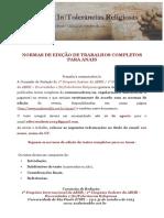 Normas de edição de Trabalhos Completos para ANAIS - pdf