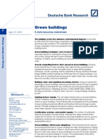 DB Green Building Report April 2010