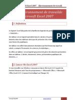 Environnement de Travail de MS Excel 2007