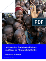 Protection Sociale Des Enfants Au Senegal