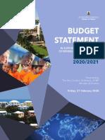 Budget 202021 Statement Web