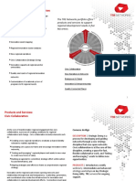 TRE Networks Products & Services (draft)