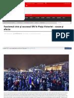 Www Cotidianul Ro Fascismul Civic Si Succesul Sri in Piata V