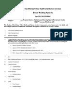 DVHHS April 11 Agenda