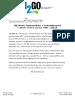 H2GO Sends Supplement Letter to Settlement Proposal.docx