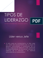 ITEP - TIPOS DE LIDERAZGO