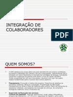SME - INTEGRAÇÃO DE COLABORADORES
