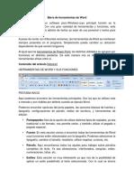 Barra de herramientas de Word.docx