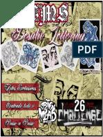 26 Challenge - 2018 (Sketchbook) por CMS Tattoo