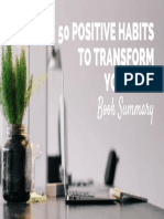 [R++] Michael Chapman - 50 Positive Habits to Transform Your Life [Summary].epub