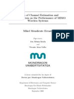 Effects of Channel Estimation and Implementation on the Performance of MIMO Wireless Systems 2008 Thesis 1233771198
